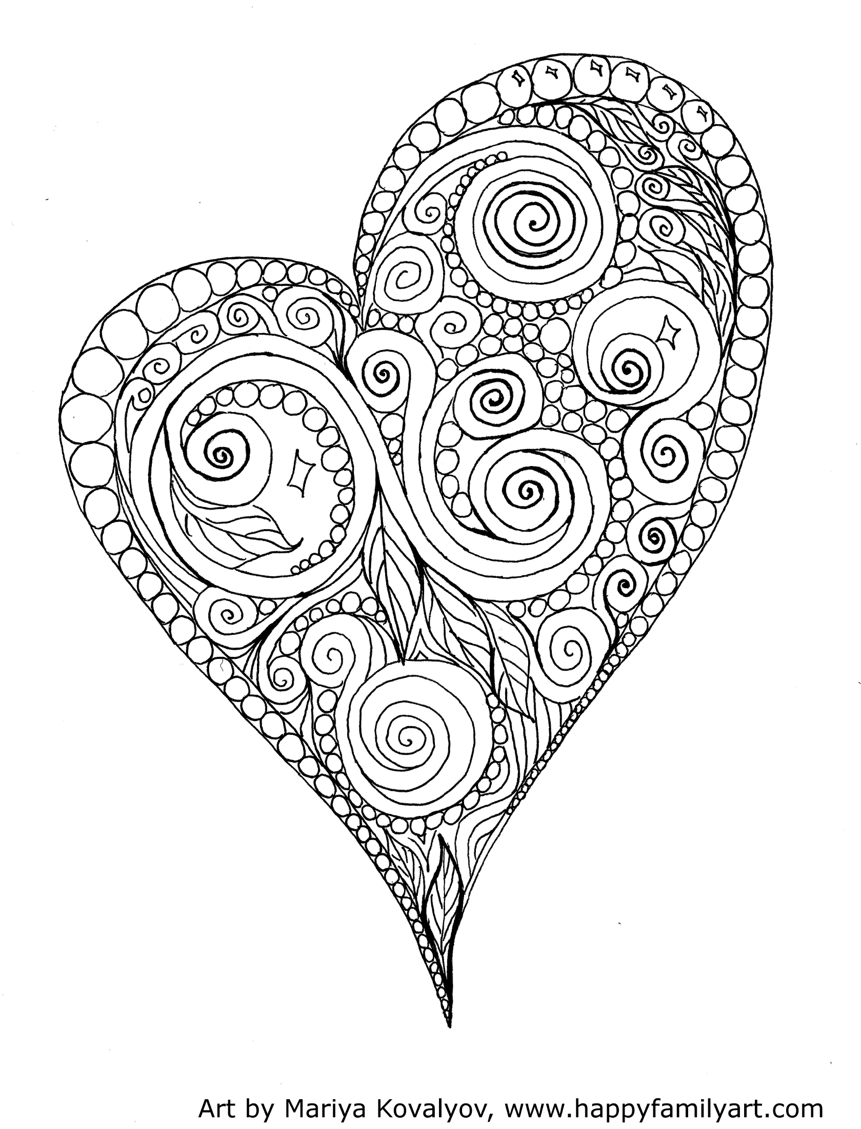 Printable Valentine 39 s Day Coloring Pages My Craftily